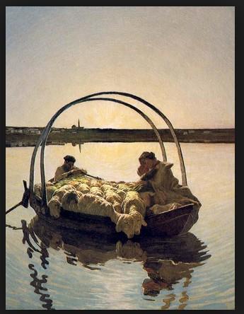 Segantini's schilderij