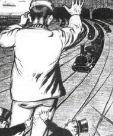 Spoorwegstaking
