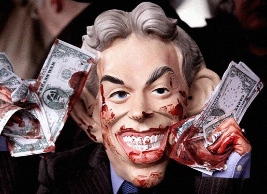 Tony Blair geld